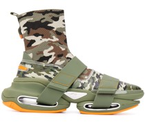 'B-Bold' Sneakers mit Camouflage-Print