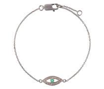 Silberarmband mit Auge-Anhänger