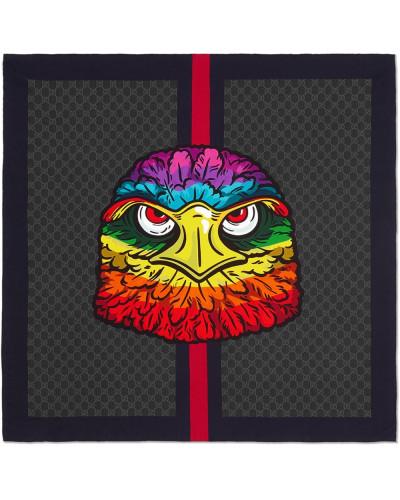 Schal aus GG Seide mit Adler
