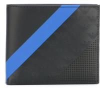 - contrast stripe wallet - men - Kalbsleder