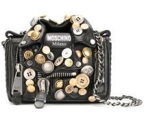 Handtasche im Bikerjacke-Design