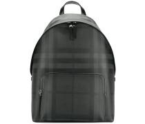 designer check backpack