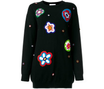 bead embroidered jumper