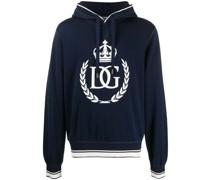 DG King print hoodie