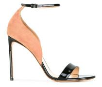 Zweifarbige Stiletto-Sandalen - women