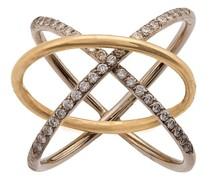 Gekreuzter Ring