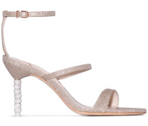 'Rosalind 85' Glitter-Sandalen