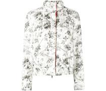 botanical print jacket - women