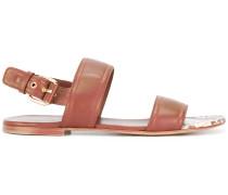 Sandalen mit SchlangenlederDetail