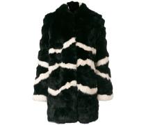 Mantel aus Kaninchenpelz