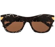 Abgerundete Sonnenbrille