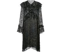 leopard print frills dress
