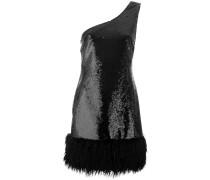 Kleid mit einschultrigem Design