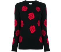 'Roses' Kaschmirpullover