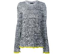 Melierter Pullover - women - Baumwolle/Polyamid