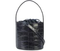 crocodile effect bucket bag