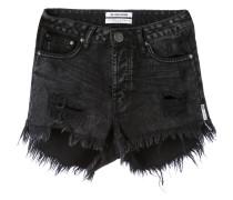 frayed denim shorts - women - Baumwolle - 25