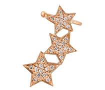 18kt 'Stasia' Ear Cuff aus Rotgold mit Diamanten