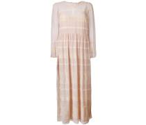 Semi-transparentes Kleid mit Spitze - women