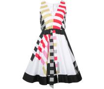 - Ausgestelltes Kleid mit elastischer Taille