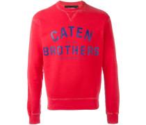 'Caten Brothers' Sweatshirt - men - Baumwolle
