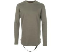 Sweatshirt mit Riemendetail