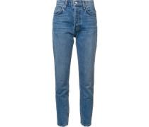 - 'Lou' Hoch sitzende Jeans - women - Baumwolle