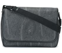 flap closure laptop bag