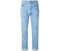 'Vanessa' Jeans mit Verzierungen
