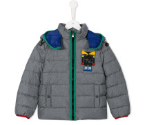 robot monster puffa jacket