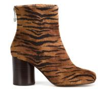 'Tabi' Stiefel mit Tigermuster - women