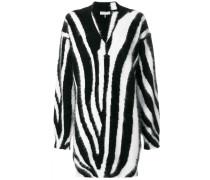 zebra printed sweater