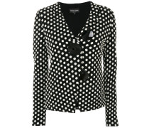 polka dotted jacket with large buttons - Unavailable