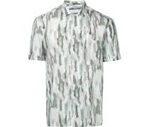 Hemd mit Camouflage-Print - men - Baumwolle - 40