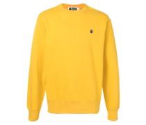 A BATHING APE® Sweatshirt mit Affen-Patch