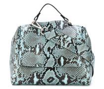 snake print shoulder bag - women