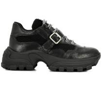 Klobige Sneakers mit Schnalle