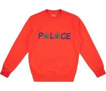 Pwlwce Sweatshirt mit rundem Ausschnitt