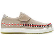 woven detail sneakers