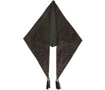 Schal mit Print - men - Acetat - Einheitsgröße