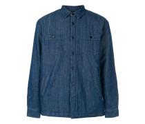 Jeans-Hemdjacke mit Brusttaschen
