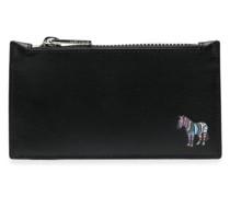 Portemonnaie mit Zebra-Logo