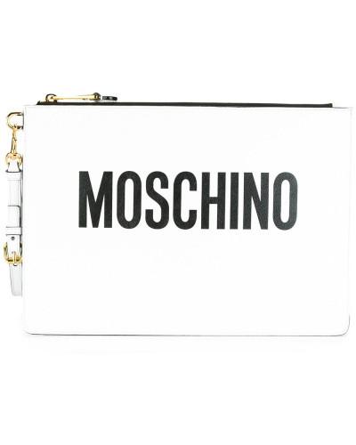 Moschino Damen Clutch mit Logo-Patch Spielraum Wirklich Fachlich Sammlungen  Günstig Online Neuesten Kollektionen Günstig 648a2efb1d