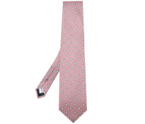 Krawatte mit Print - men - Seide/Leinen/Flachs