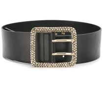 embellished buckle belt