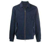 zipped-up jacket