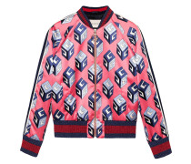 - GG Wallpaper print duchesse bomber - women