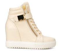High-Top-Sneakers mit verdecktem Wedge-Absatz