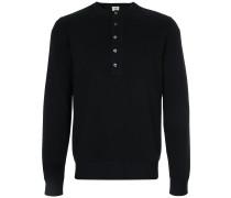 long sleeved button up sweatshirt