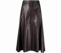 Fairchild A-line midi skirt